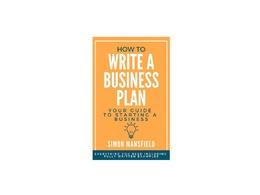 Write a Business Plan
