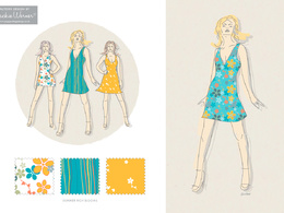 Design you a bespoke seamless repeat pattern
