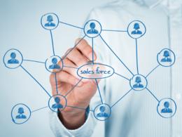 Provide list of 8K+ currently live websites using Salesforce