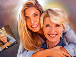 Turn any portrait into a digital oil painting.