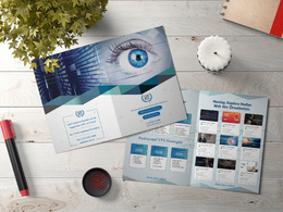 Design clean, minimalist and professional brochure / Catalog.