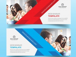 Design Creative Website Banners + Unlimited Revisions