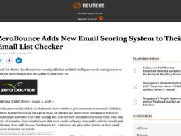 Press release on Reuters-Reuters.com with a do-follow Link DA 95
