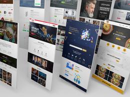 Premium Logo + Stunning Website +  Business Stationary design