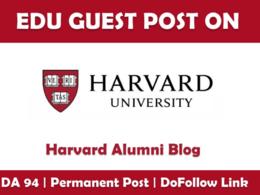 Write And Publish Guest Post On Harvard – Harvard.edu