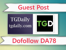 Guest post on TG Daily - tgdaily.com - DA78