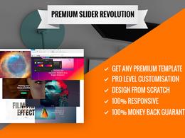 Create Premium Revolution Slider Or Modify Existing One