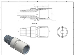 Do Fabrication Cad Drawings For Mechanical Parts