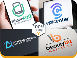 Exceptional logo for your business +unlimited revisions.