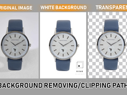 Remove/cutout background from 20 images in pen tool