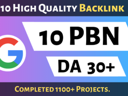 10 Powerful PBN High DA 25 Dofollow Backlinks
