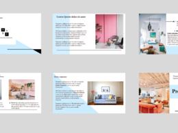 Create a clean, modern & minimalist PowerPoint presentation