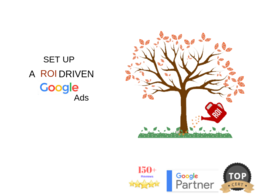 Setup ROI Driven Google AdWords PPC Campaign With £120 Credit