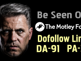 Publish guest post on DA 91 TheMotleyFool site Dofollow Backlink