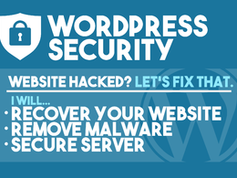 Remove malware and secure hacked wordpress website