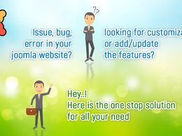 Joomla development:- Bug fixing, customization and maintenance