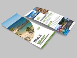 Design Amazing Dl Flyer Or Rack Card, Door Hanger, Flyer