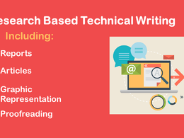 Do Research Based Technical Writing As Reports And Articles