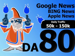 Guest Post On Da 80 Google News Blog With Dofollow Link