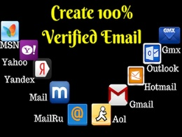 Create 50 Verified Gmail or Any Email Account