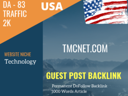 USA Technology Related 16700 Traffic 83 DA Guest post link