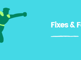 Make small fixes or add quick things to your website