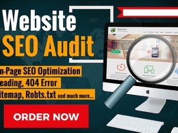 I Will Do Advanced Website On Page SEO Audit Report In 24 Hours