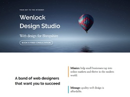 Design and develop a beautiful, responsive and optimized website