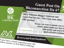 Provide Guest Post On Bkconnection.com _ Bkconnection DA 67