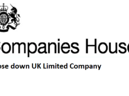 Close Down Limited Company by UK Based Qualified Accountant