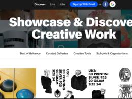 Write & publish Dofollow guest post on Behance DA 90+