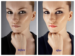 Professionally Retouch (5 Photos) Portrait & Model Photography