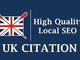 Do 150 UK based local citations