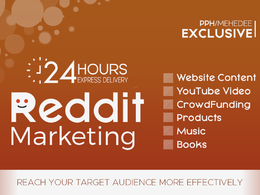 Promote Your Website Content or YouTube Video on REDDIT