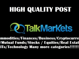 Write an publish guest post Talkmarkets. com With Dofollow link