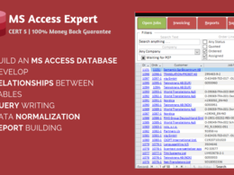 Develop or fix MS Access Database and Query