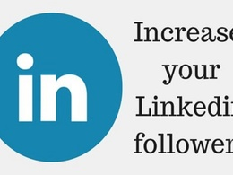Boost Linkedin Page or profile to 1000 people