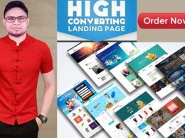 Provide one hour Landing page design/development