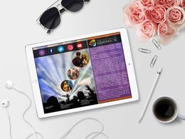 Design Creative Layout for Media Kit, Press Release, EPK