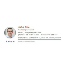Create you an Innovative Email Signature for