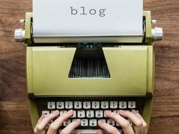 Write a original 500 word blog post