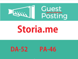Write & post on Storia.me. Storia – DA 52 blog