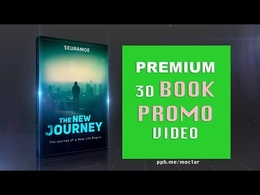I will Create 3D BOOK promotion or Book trailer video