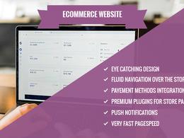 Design & Develop responsive, fast, SEO friendly WooCommerce site