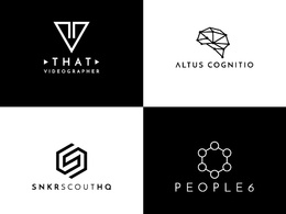 Design the minimalist and modern logo for your brand.