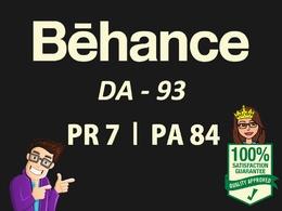 Write a Guest post on Behance.net (DA93)