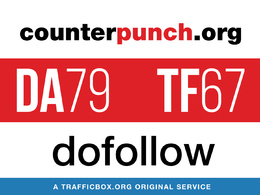 Publish a guest post on counterpunch.org - DA84