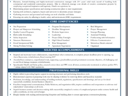 Provide you with a professional ats compliant resume