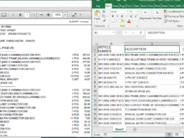 Parse or convert bank or financial statements into excel