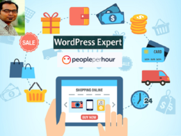 Build modren ecommerce website using wordpress